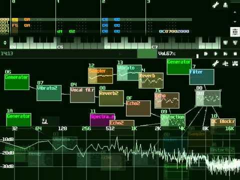 Программа для создания музыки на андроид Alexander Zolotov SunVox