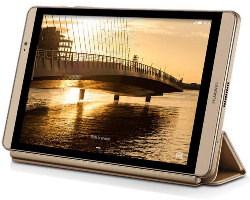 Внешний вид планшета Huawei MediaPad M2