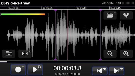 Программа для создания музыки на андроид Samalyse TapeMachine Recorder