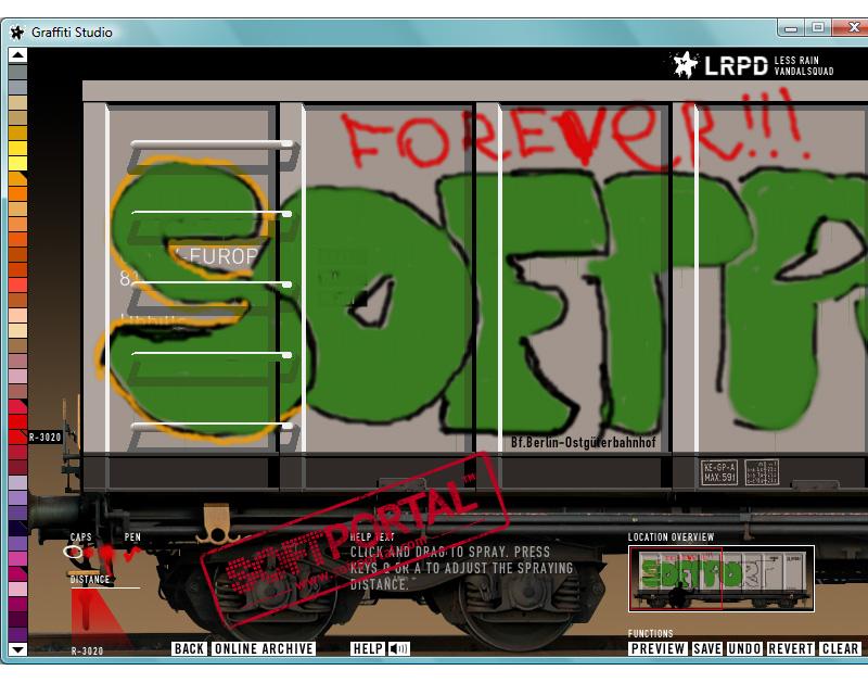 Приложение для рисования на компьютере Graffiti Studio