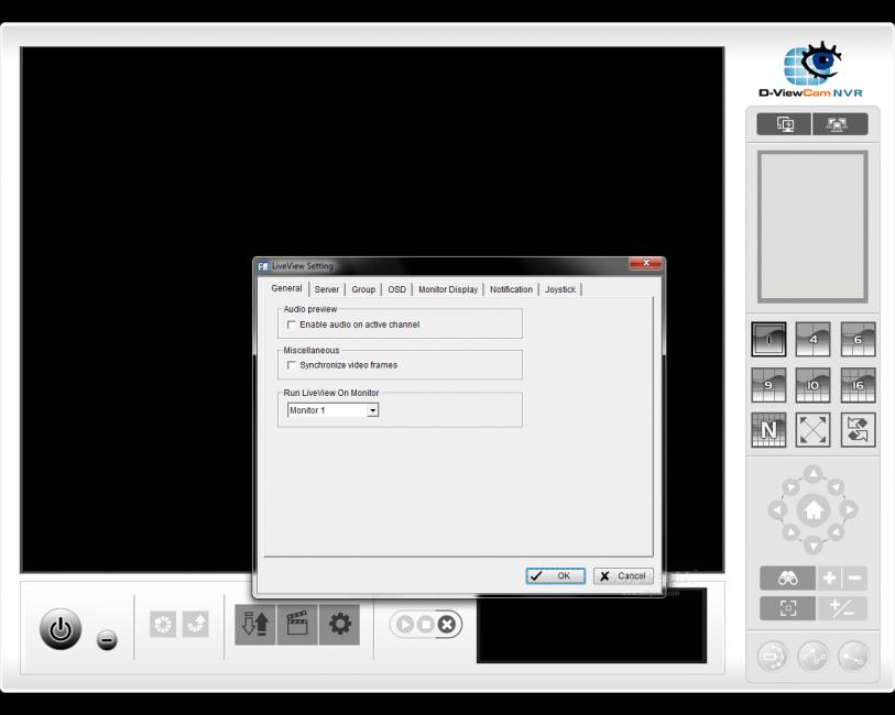 Рабочее окно программы D-view CAM