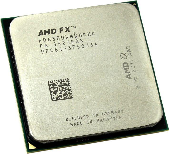 Внешний вид процессора серии FX