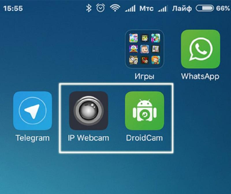 Приложения для использования веб-камеры