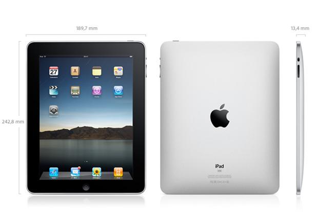Первая версия iPad