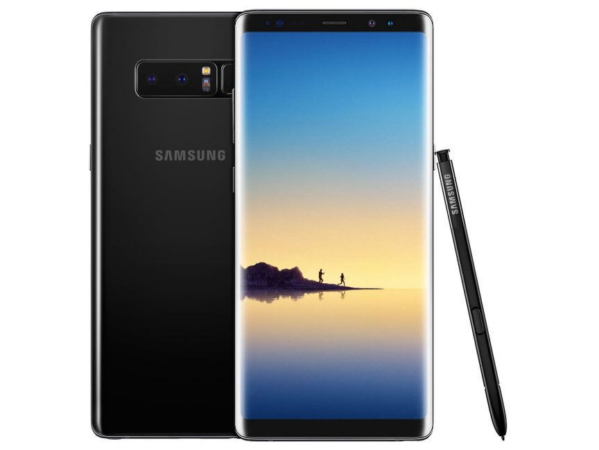 Внешний вид телефона Samsung Galaxy Note 8