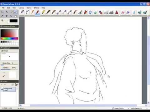 Приложение для рисования на компьютере SmoothDraw