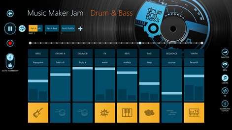 Программа для создания музыки на андроид Music Maker Jam