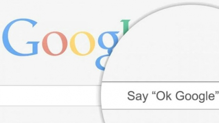Скажи ОК, Google для начала голосового ввода