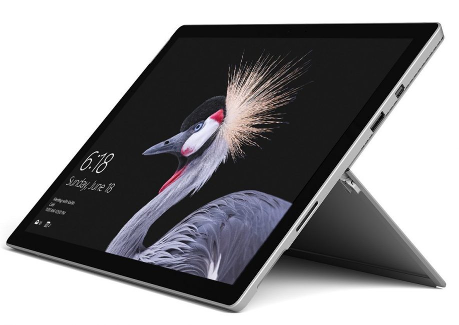 Внешний вид планшета Microsoft Surface Pro 2017