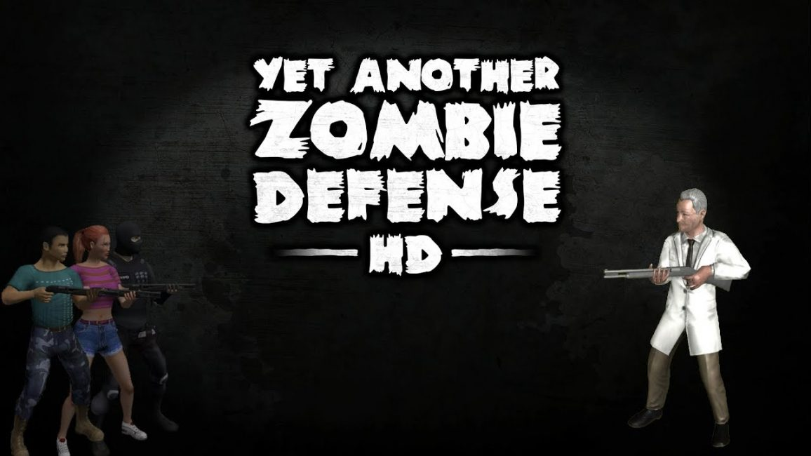 Превью игры Yet Another Zombie Defence HD