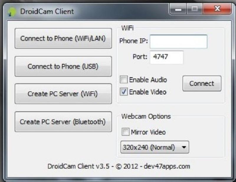 Окно, где нужно ввести IP-адрес