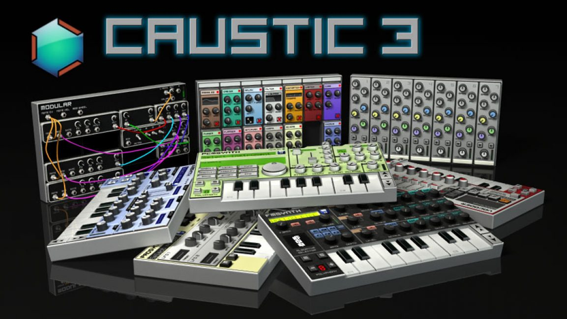 Программа для создания музыки на андроид Caustic 3