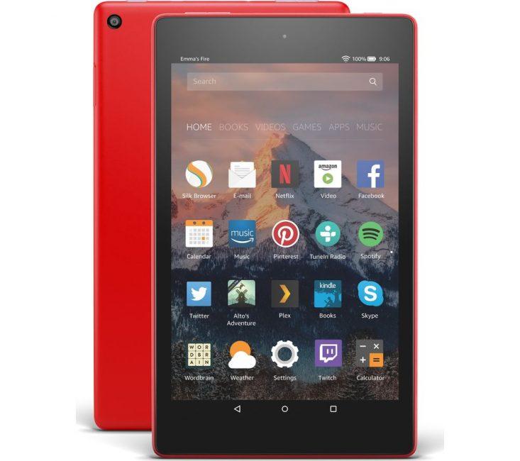 Внешний вид планшета Amazon Fire HD8