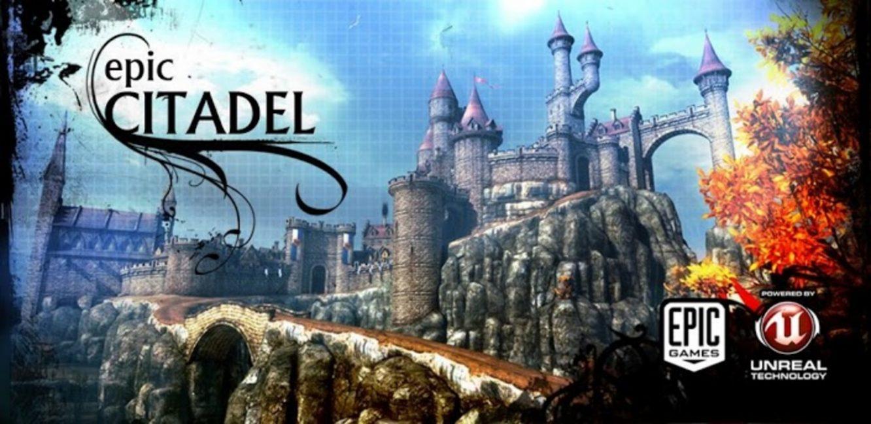 Превью бенчмарка Epic Citadel