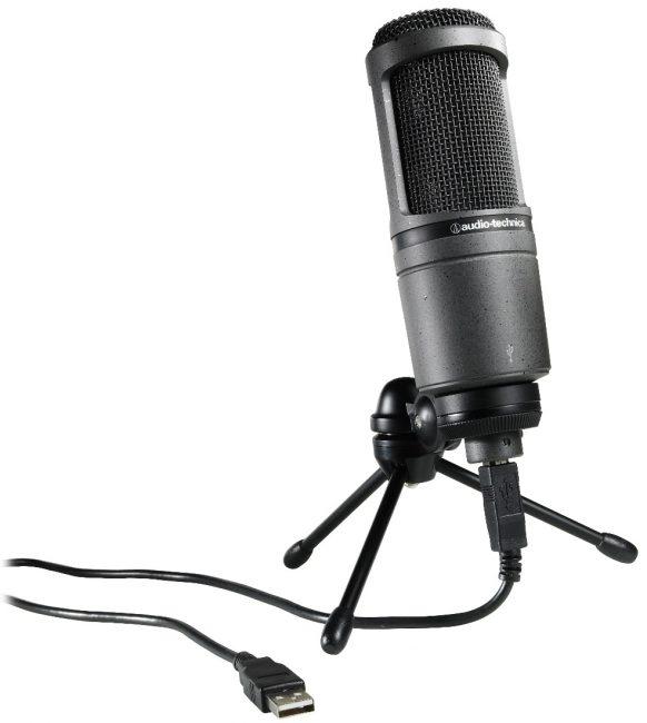 Внешний вид микрофона Audio-Technica AT2020