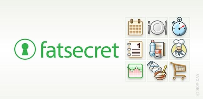 Приложения для фитнес браслетов Fatsecret