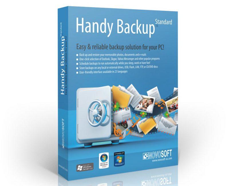Программа Handy Backup