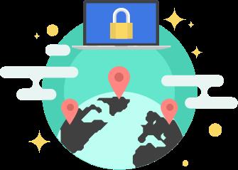 Использование VPN IP-адреса из любой точки мира