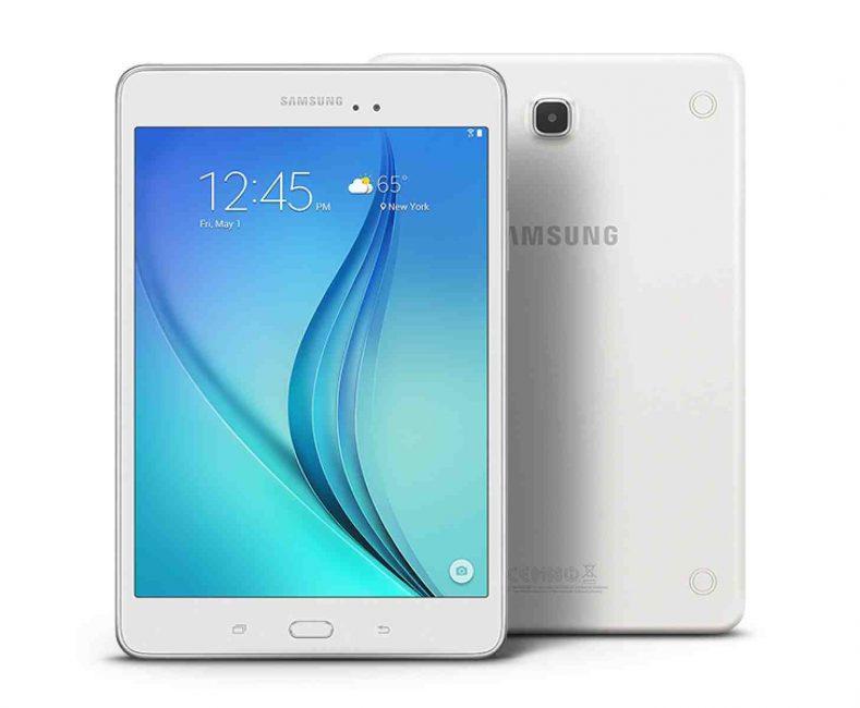Внешний вид планшета Samsung Galaxy Tab A8