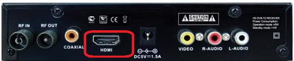 Разъем для HDMI