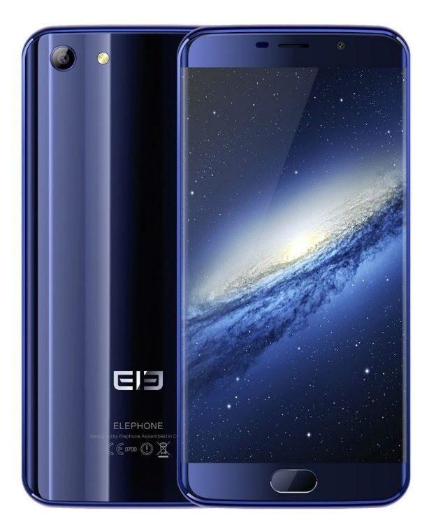 Внешний вид телефона Elephone S7