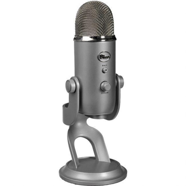 Внешний вид микрофона Blue Microphones Yeti