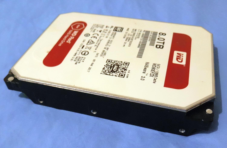 Внешний вид HDD