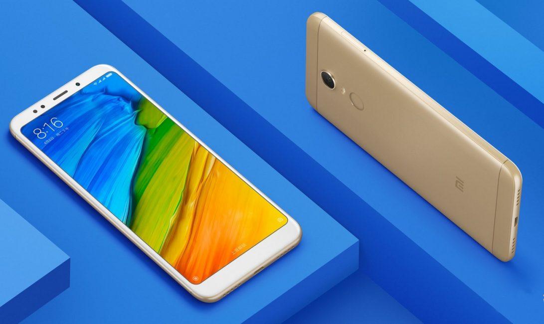 Внешний вид Xiaomi Redmi 5 и Redmi 5 Plus