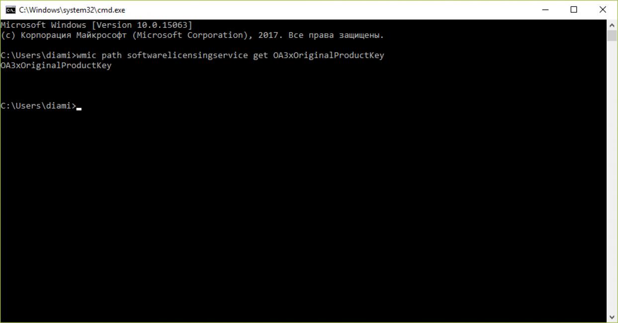 Извлечение ключа из UEFI