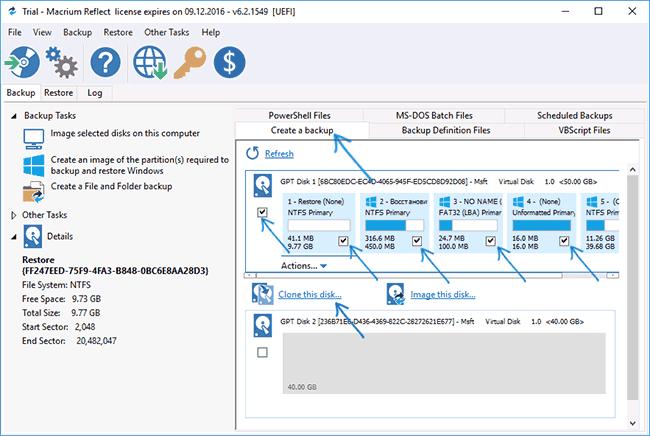 Процесс переноса Windows на SSD