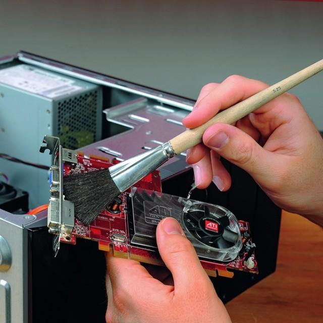 Чистка устройств компьютера