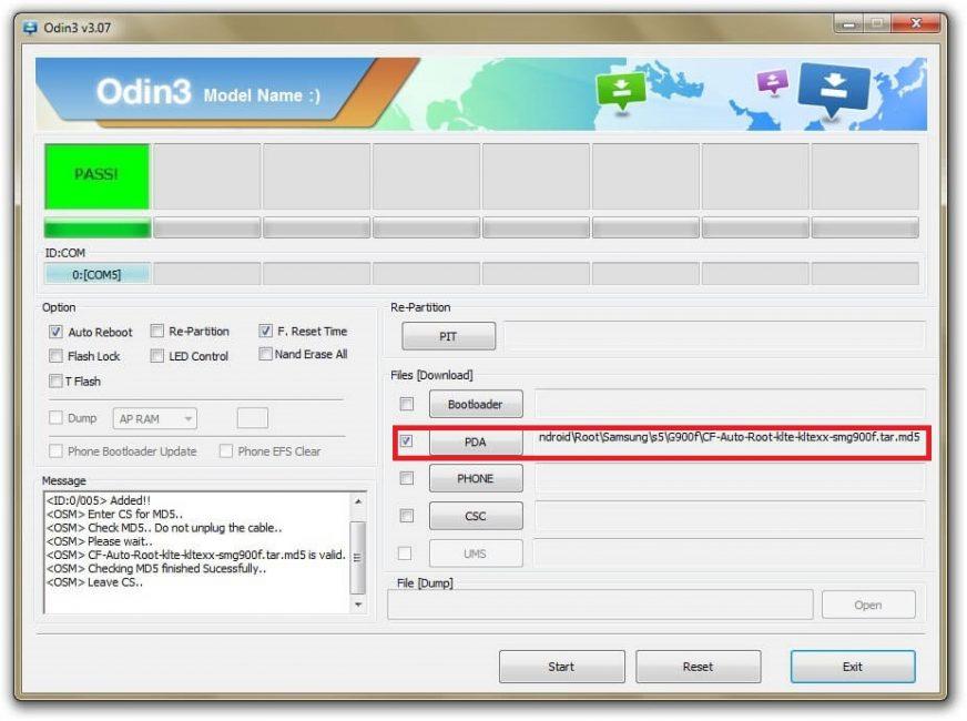 Загрузка файла в систему