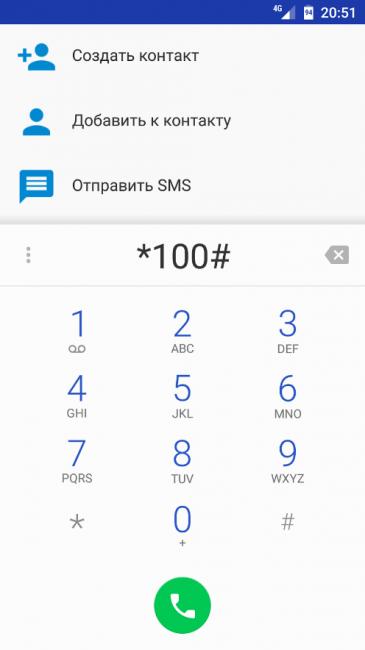 Набор телефонного номера и SMS-сообщения
