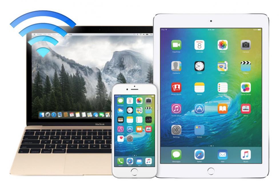 Различные устройства компании Apple