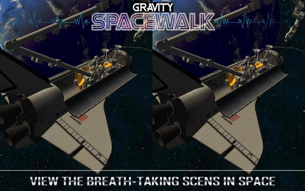 Превью игры Gravity Space Walk VR