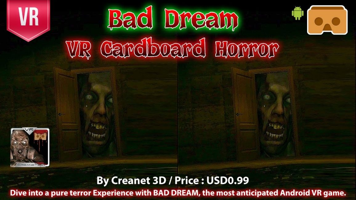 Превью игры Bad Dream VR Cardboard Horror
