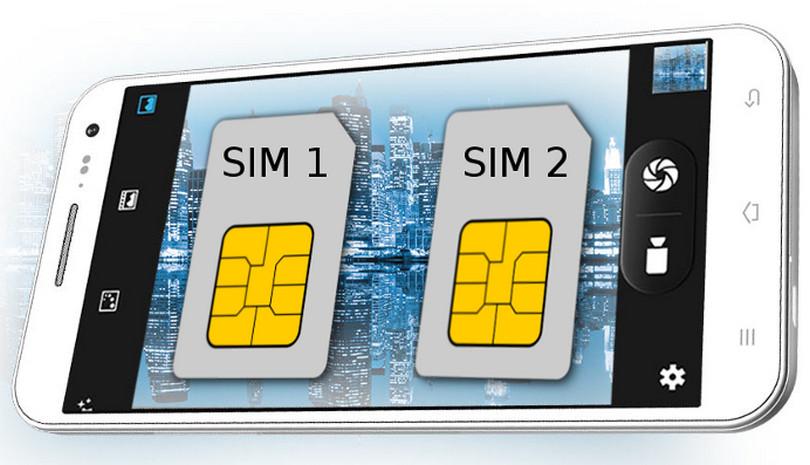 Смартфон с двумя SIM – картами