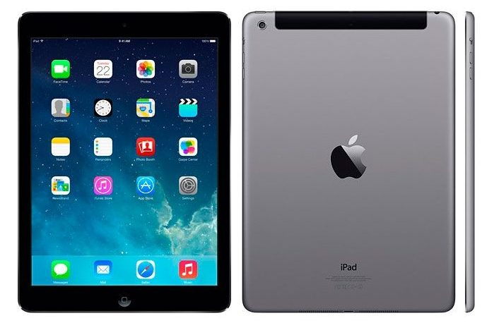Внешний вид - полноформатный планшет Apple iPad Air 32 GB Wi-Fi
