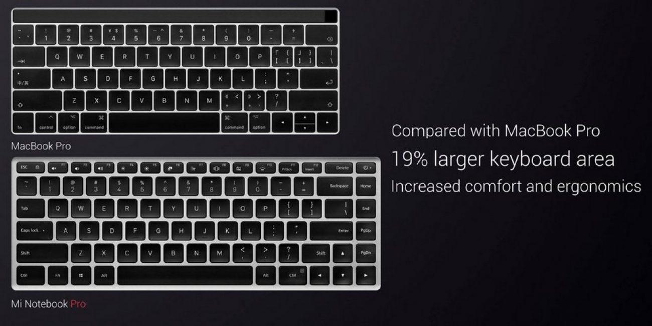 Сравнение двух клавиатур