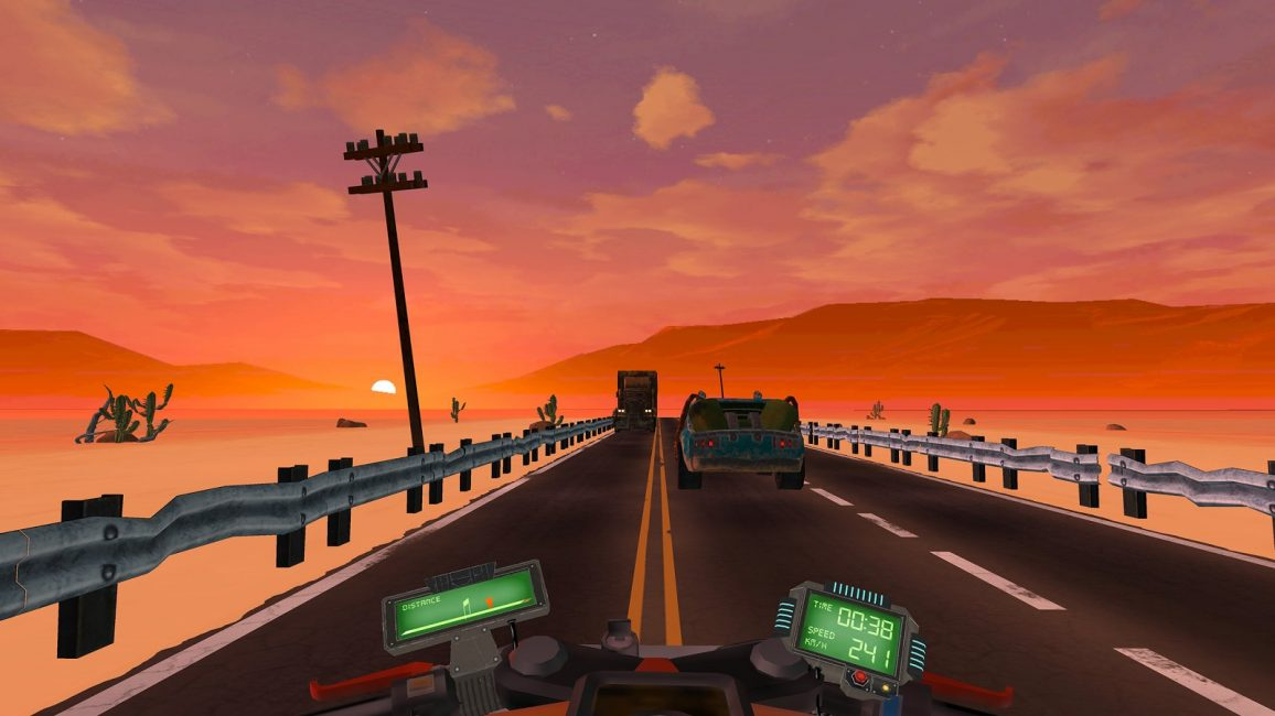 Превью игры Apocalypse Rider — VR Bike Racing Game
