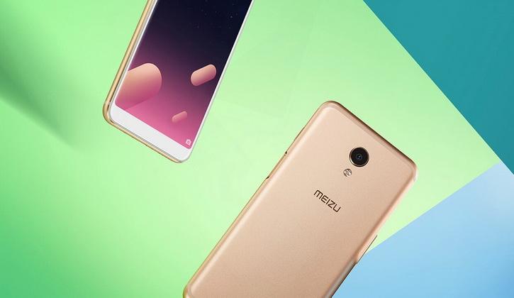 Смартфон работает на Android 7 c оболочкой Flyme 6