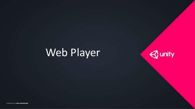 Что такое Unity Web Player