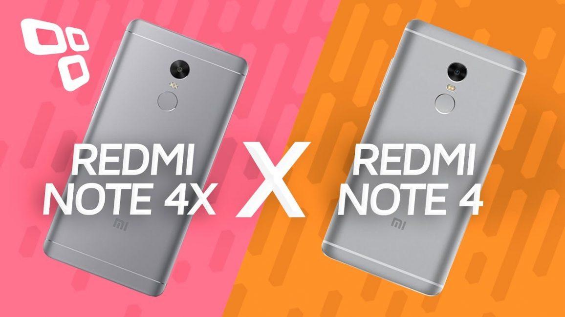RedmI Note 4 и Note 4X