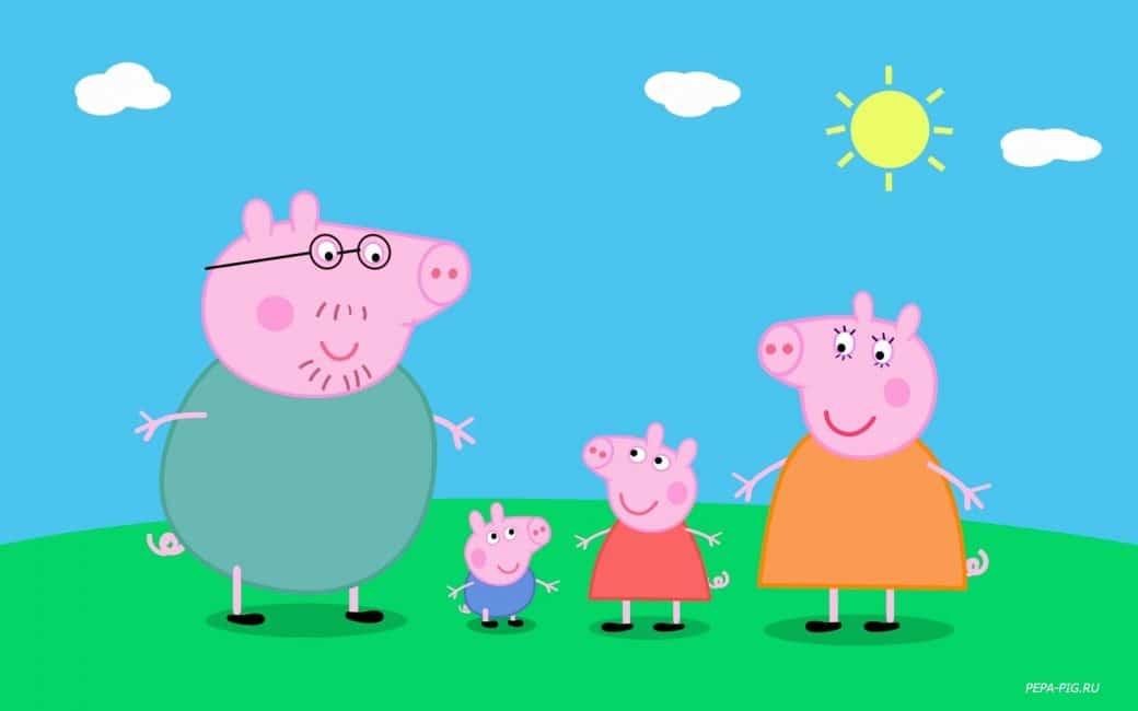 Превью игры «Свинка Пеппи на двоих: Найди сокровища»