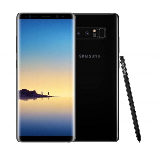 Samsung Galaxy Note 8 смартфон с самой лучшей камерой