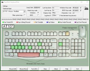 Passmark KeyboardTest программа для диагностики компьютера