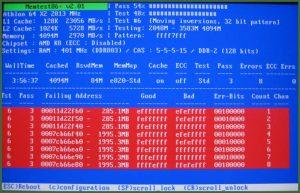 MemTest86+ программа для диагностики компьютера