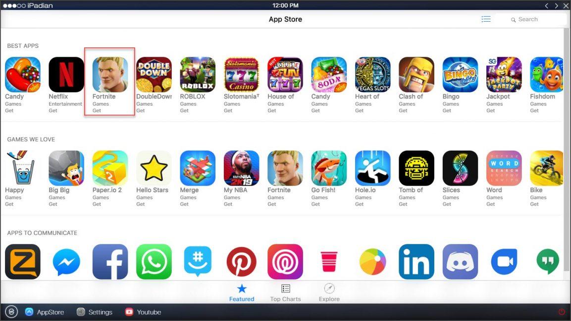 Топ эмуляторов iOS для ПК