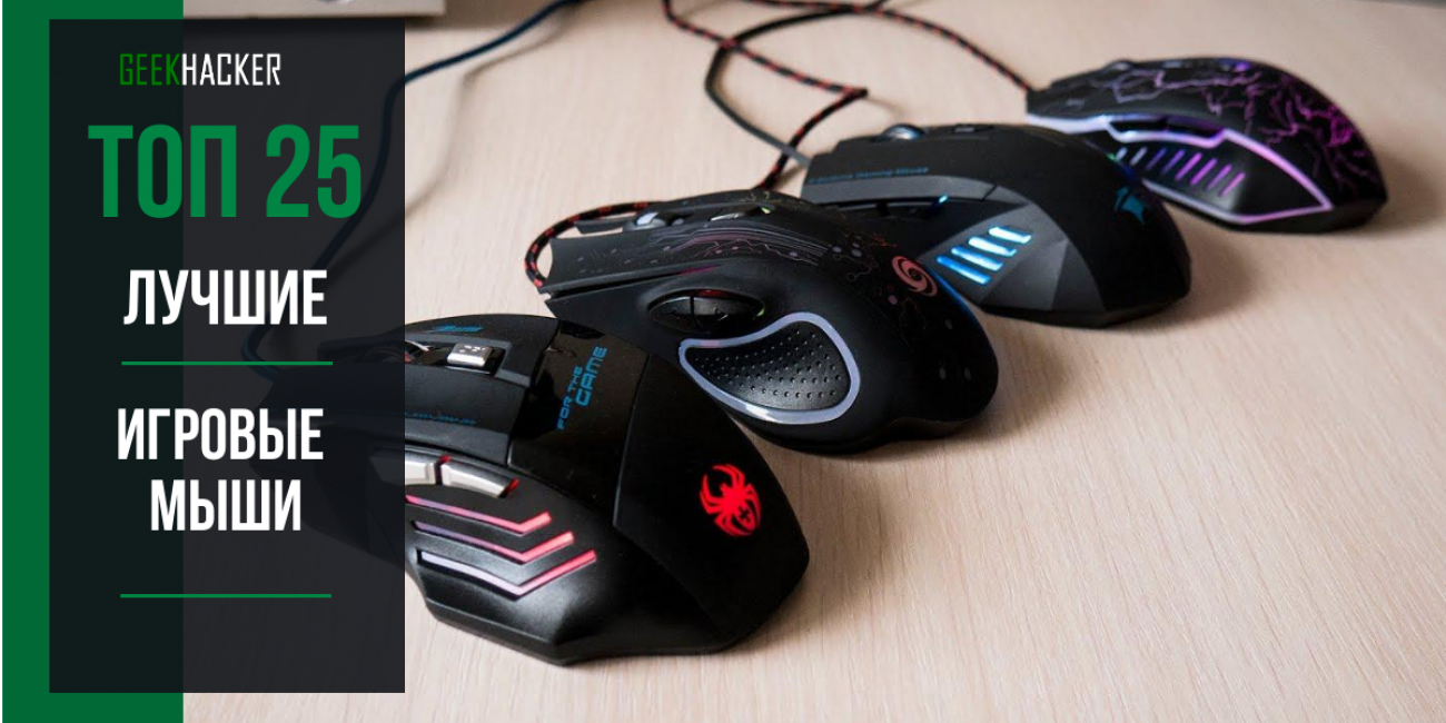 Лучших игровые мыши