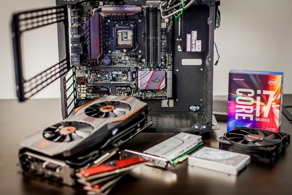 сборка игрового компьютера